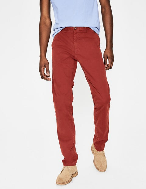 Lightweight Chinos - Cayenne Pepper