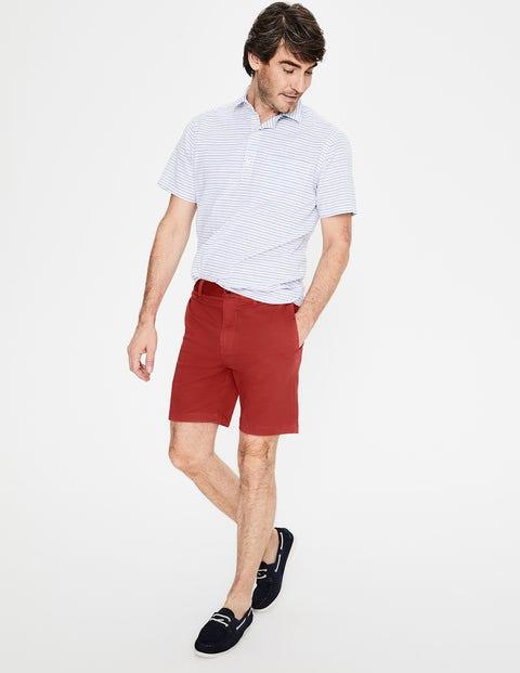 Chino Shorts - Cayenne Pepper
