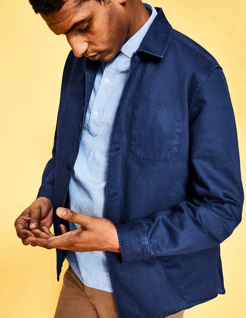 Kentmere Overshirt - Space Blue