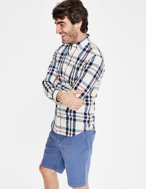 Cartmel Shirt - Rio Red/Ecru Check