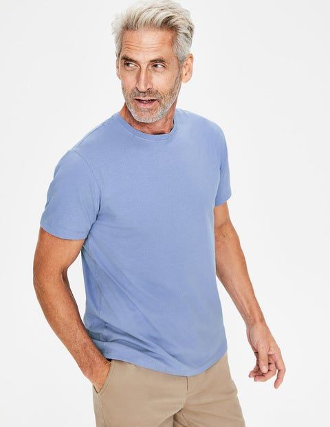Washed T-Shirt - Thistle Blue