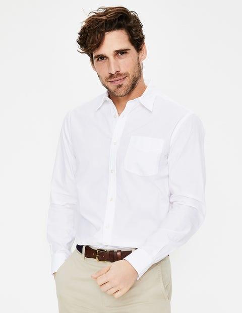 Poplin Shirt - White
