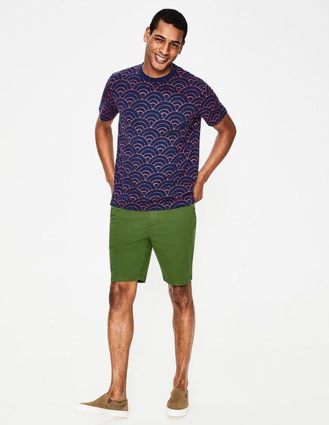 Chino-Shorts - Spielfeldgrün