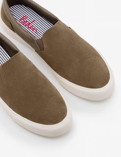 Slip-On Sneakers - Stone