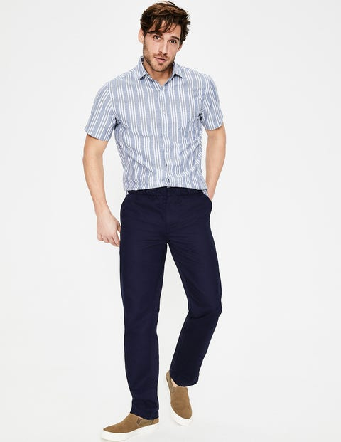 Waveney Drawstring Chinos - Navy