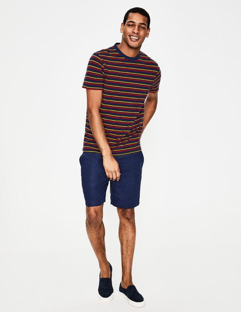 Stripe T-Shirt - Navy Multi Stripe