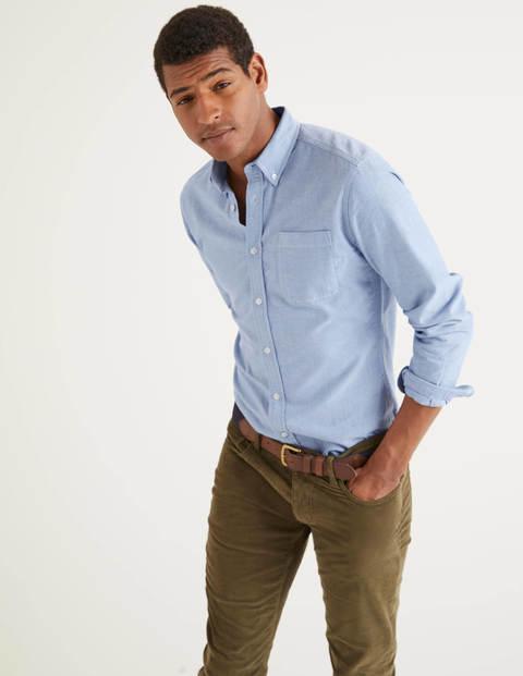 Schmal geschnittenes Oxford-Hemd