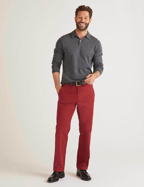 Original Straight Leg Chinos - Sumac
