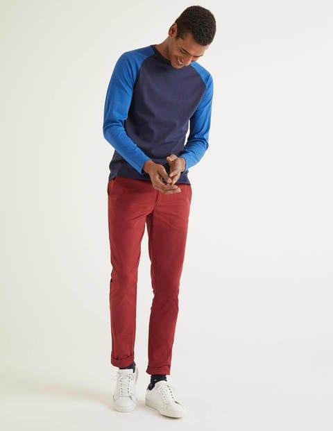 Original Slim Leg Chinos - Sumac