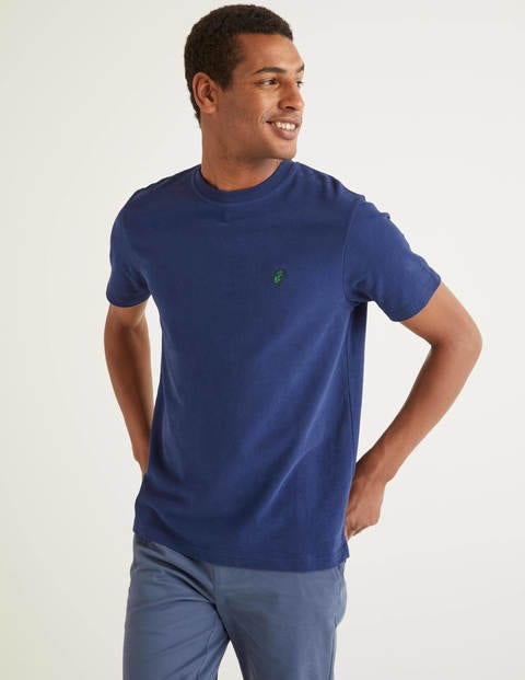 Jersey Interest T-Shirt - Navy Bug