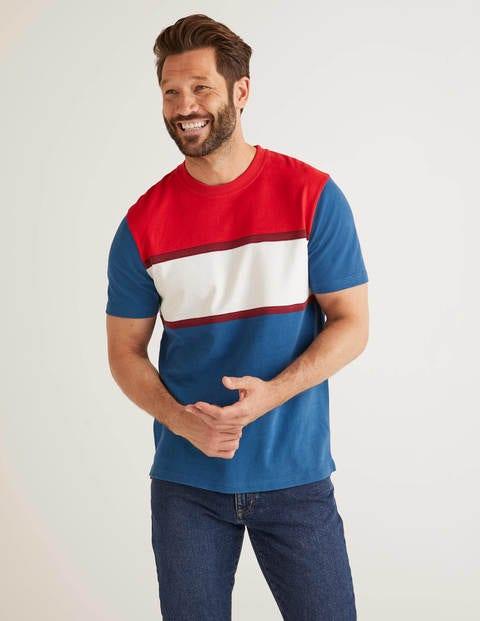 Auffälliges Jersey-T-Shirt