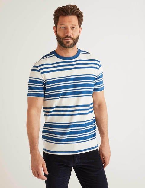 T-Shirt mit Retrostreifen