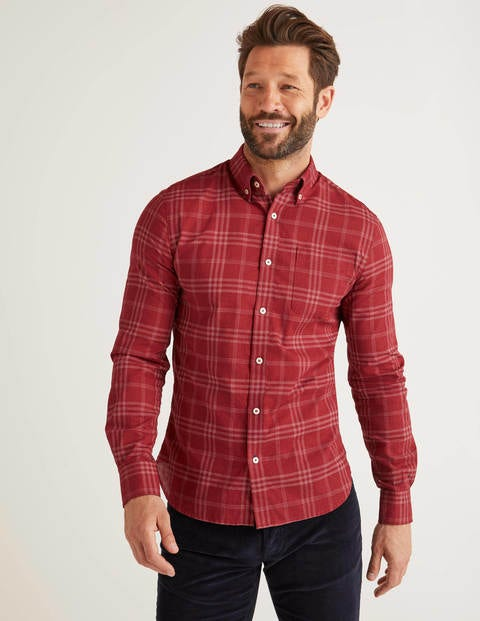 Slim Fit Overdye Shirt
