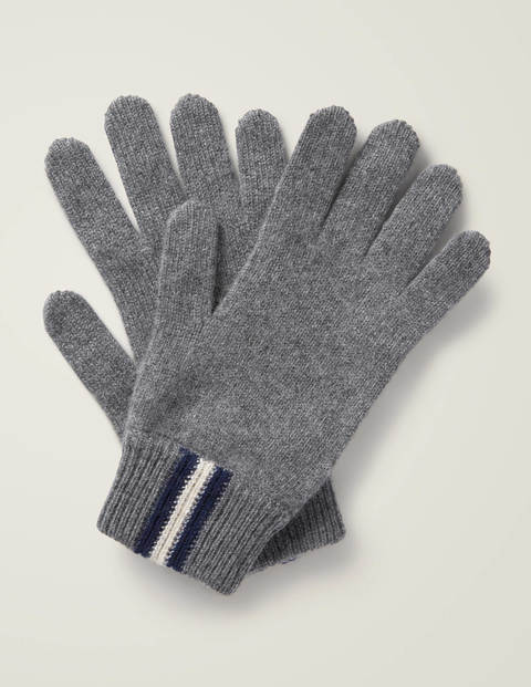 Cashmere Gloves - Grey Marl