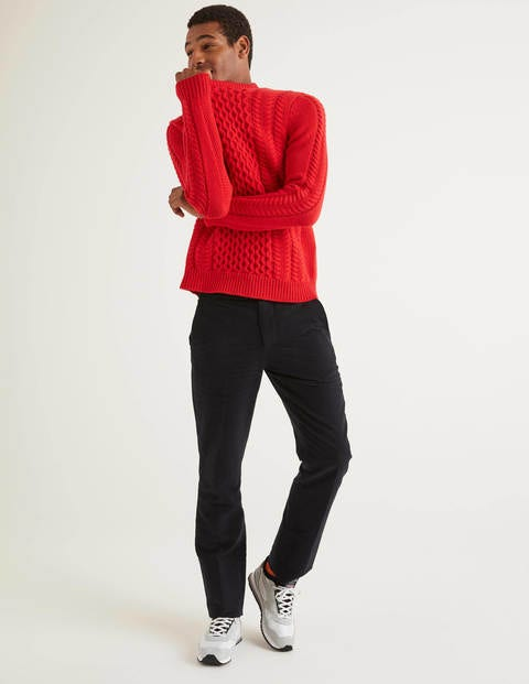 Torridon Cable Crew Neck