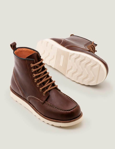 Winter Chukka Boot - Tan Leather