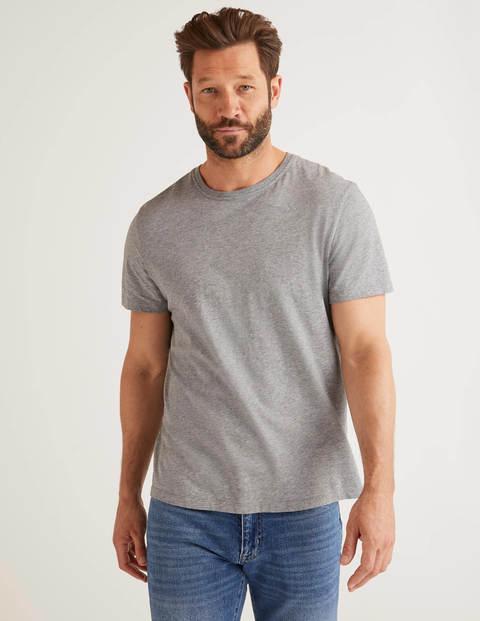 Washed T-Shirt - Grey Marl