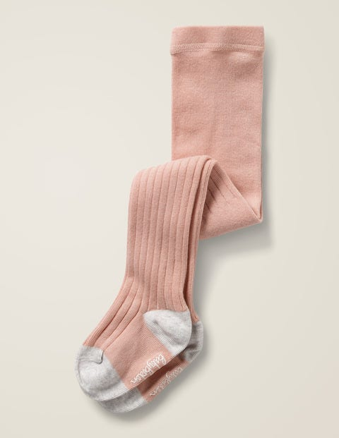 Ribbed Tights - Provence Dusty Pink