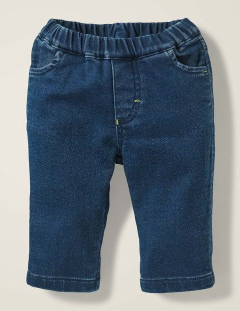 Jersey Denim Jeans - Denim Blue