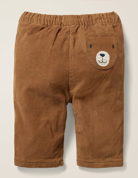 Novelty Pocket Cord Trouser