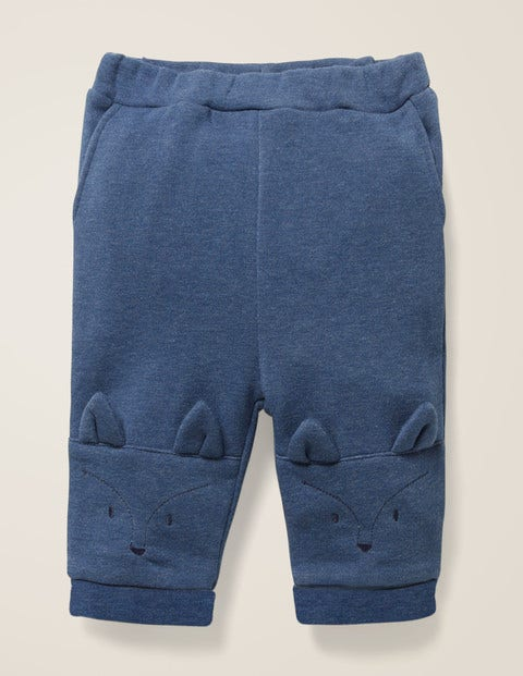 Fox Knee Bottoms - Elizabethan Blue Marl Fox