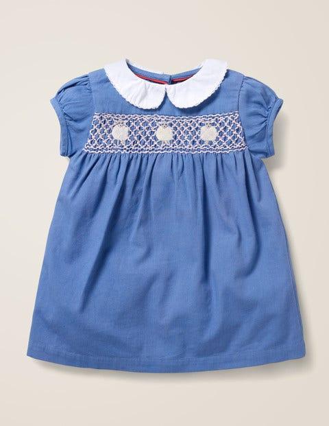 Smock Dress - Elizabethan Blue Lambs