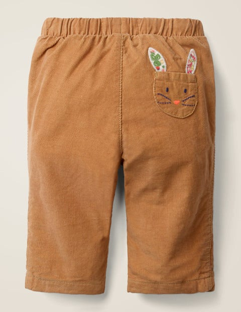Slim Cord Trouser - Butterscotch Brown Bunny