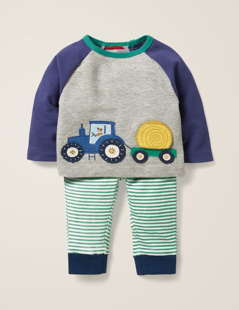 Fun Jersey Play Set - Starboard Blue Tractor