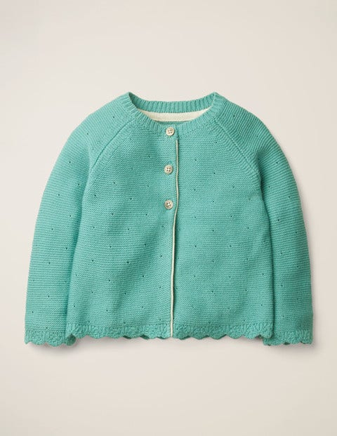 Cosy Cardigan - Duck Egg Blue