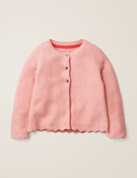 Cosy Cardigan - Chalky Pink