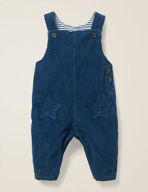 Cord Overalls - Stormy Blue