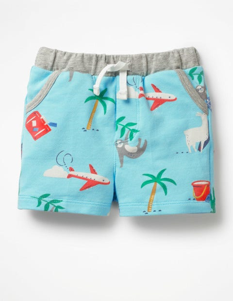Fun Jersey Shorts - Multi Take a break
