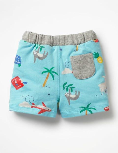 764824e30 Fun Jersey Shorts - Multi Take a break | Boden EU