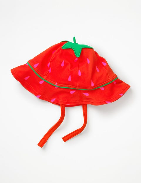 Novelty Swim Hat - Festival Pink Strawberry