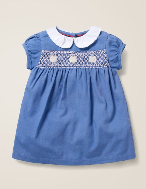 Smock Dress - Elizabethan Blue Lambs