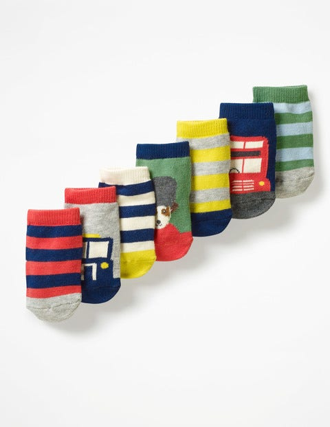7 Pack Sock Box - London