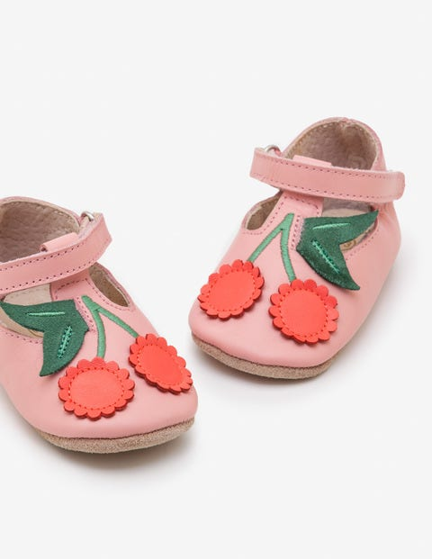Supersoft Leather Shoes - Almond Blossom Pink