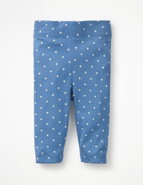 Baby Leggings - Elizabethan Blue Spot