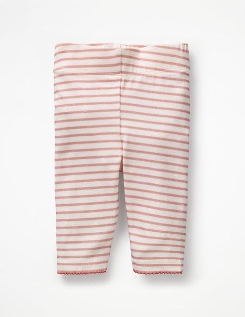 Baby-Leggings - Mandelblütenrosa/Naturweiß