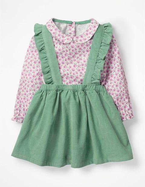 Nostalgic Woven Skirt Set - Lilac Pink Blossom