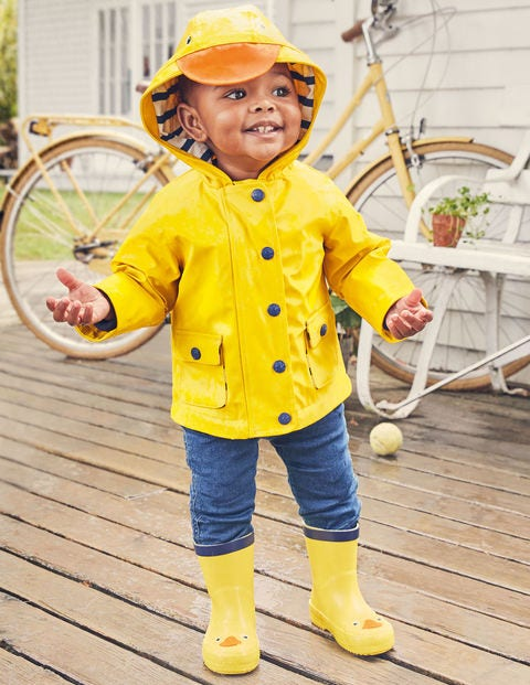 Duckling Coat - Sunshine Yellow Duck