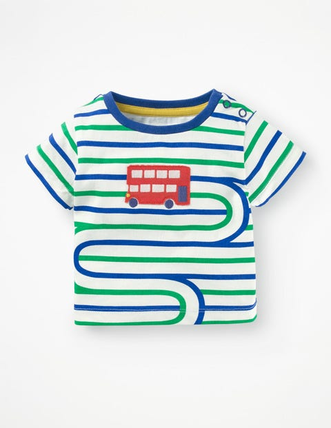 Stripy Transport T-shirt