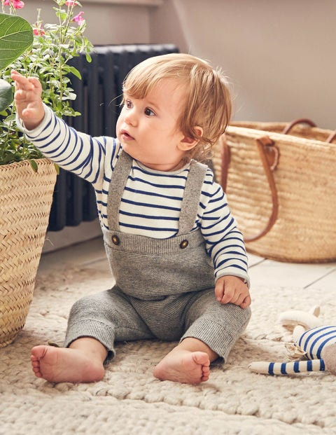 Nostalgic Knitted Play Set - Grey Marl
