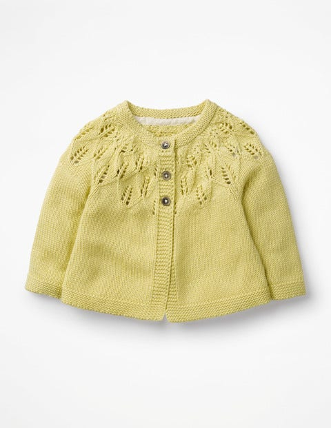 Cosy Cardigan - Primrose Yellow