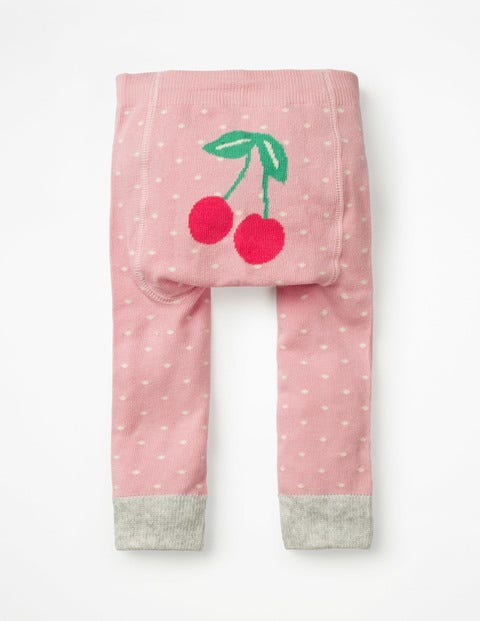 Knitted Leggings - Shell Pink