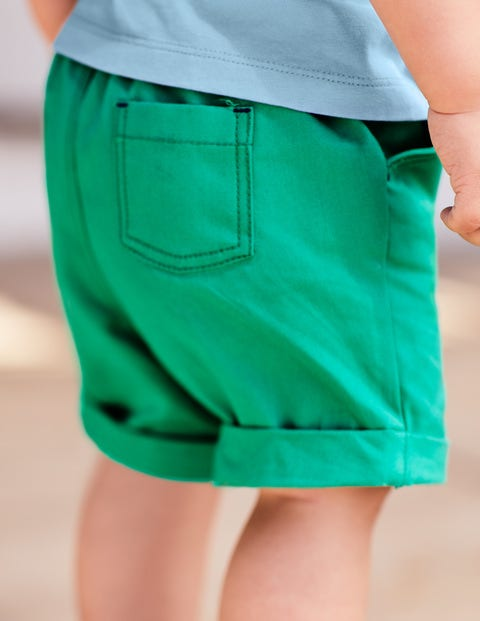 Colourful Woven Shorts - Astro Green