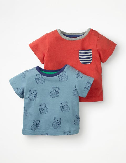 Twin Pack T-Shirts - Wren Koalas