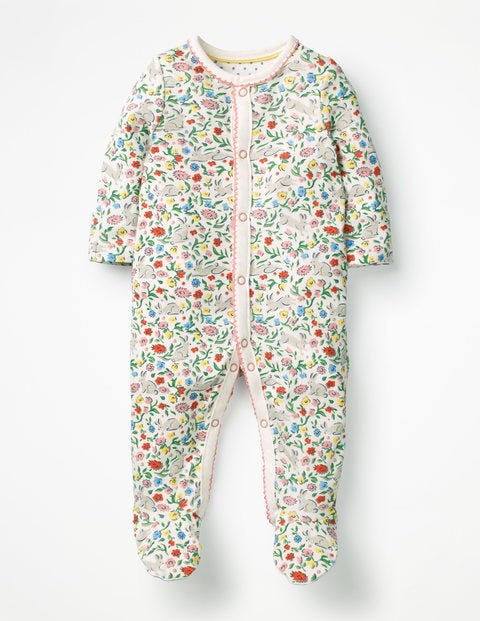 Pretty Printed Sleepsuit