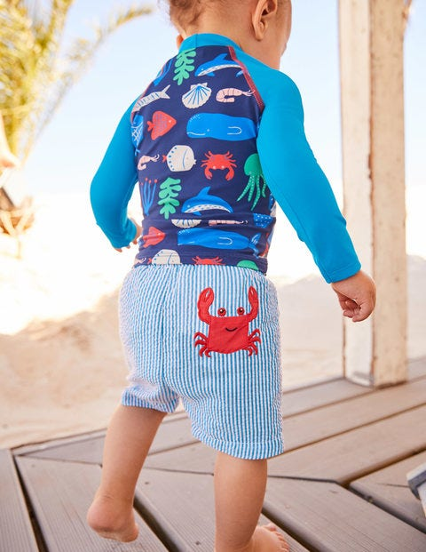 Fun Pocket Bathers - Caspian Blue Ticking Crab