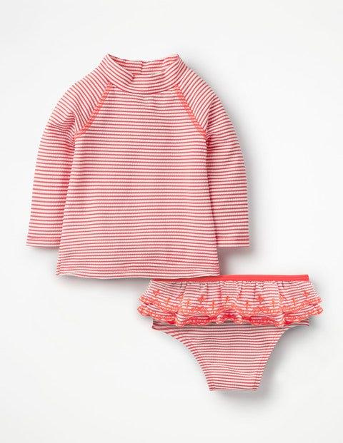 Rash Vest Set - Ivory/Shell Pink